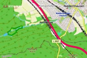 Hessen mobil, Niedernhausen Foto: Openstreetmap