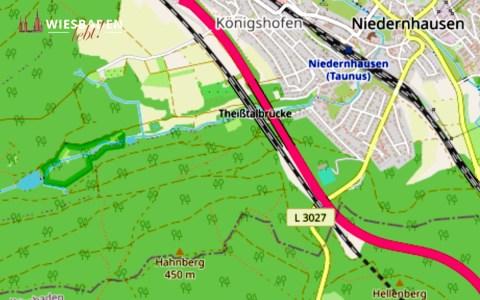 Hessen mobil, Niedernhausen ©2020 Openstreetmap