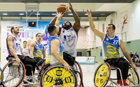 Auswärtsspiel: Rhine River Rhinos verlieren knapp gegen die Baskets 96 Rahden
