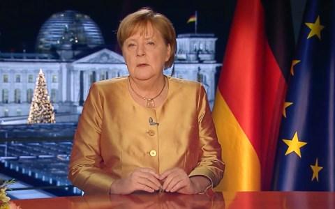 Neujahrsansprache 2021 von Bundeskanzlerin Dr. Angela Merkel