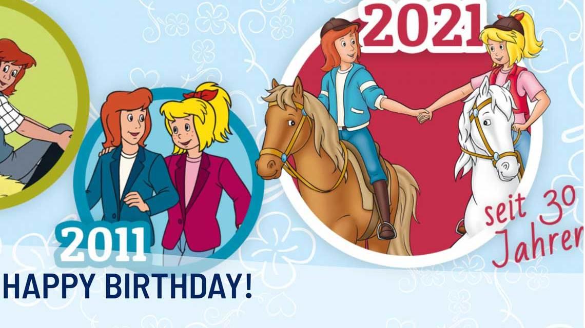 Seit 30 Jahren galoppieren Bibi und Tina mit Amadeus und Sabrina