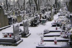 Nordfriedhof aufgrund des Schneefalls vorerst geschlossen