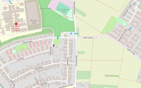 Neubau einer Kreisverkehrsanlage im Kreuzungsbereich Schönaustraße-Sylter Straße – Veilchenweg – Stegerwaldstraße in Dotzheim
