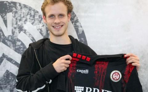 Lucas Brumme neu beim SV Wehen Wiesbaden