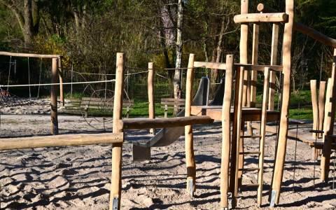 Kinderspielplätze im Kurpark