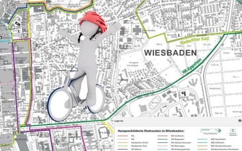 Neuauflage der städtischen Radverkehrskarte