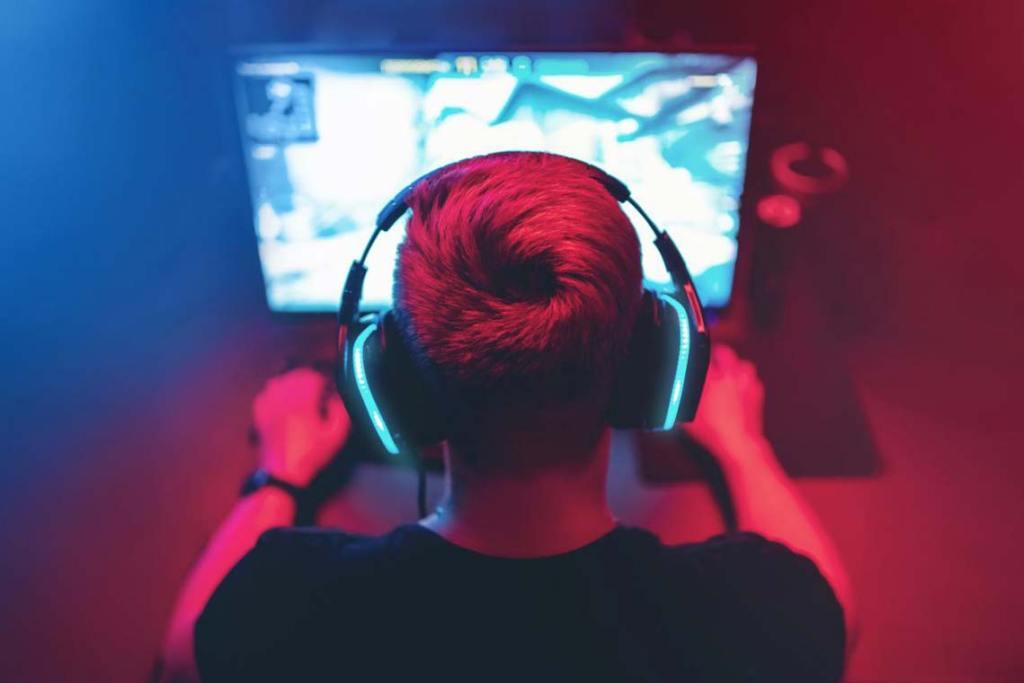 Multiplayer-Spiele: Alleine vorm Bildschirm mit anderen.