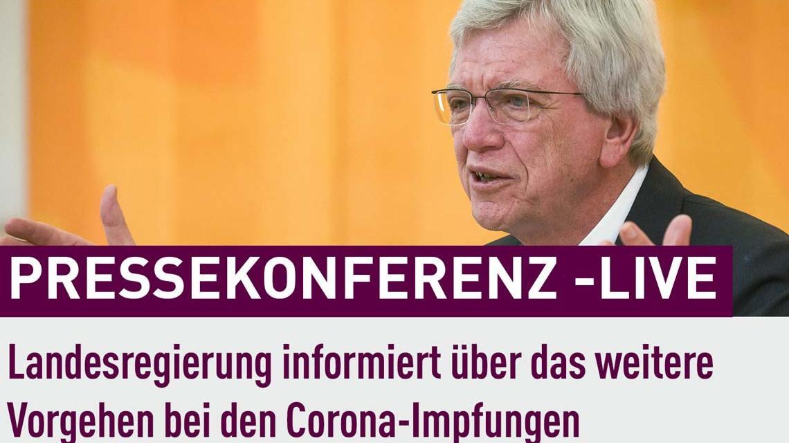 Volker Bouffier, Hessen stoppt Impfung mit Astrazeneca für