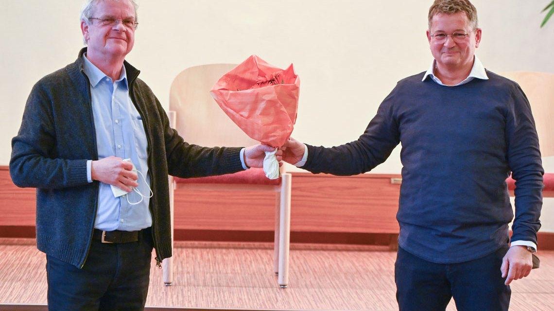 Ortsbeiratswahl Wiesbaden Mitte, Dr. Guido Haas wird zum neuen Ortsbeirat gewählt.