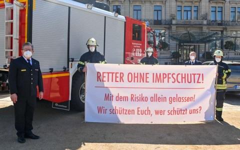 Hessens Feuerwehren ohne Impfschutz