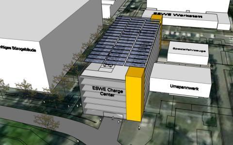 ESWE baut Vorzeige-Hub für E-Fahrzeuge