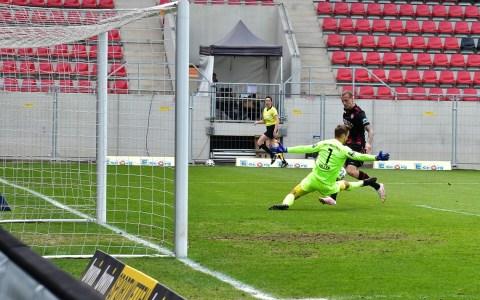 3. Liga, 2020.2021, 36. Spieltag, SV Wehen Wiesbaden gegen, 1860 1:1