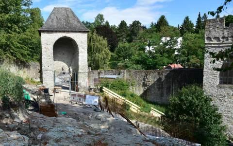 Die Burg Sonnenberg wird saniert