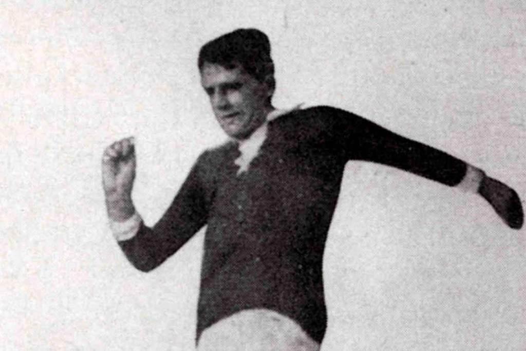Fußballer Gottfried Fuchs ©2021 Wikipedia gemeinfrei