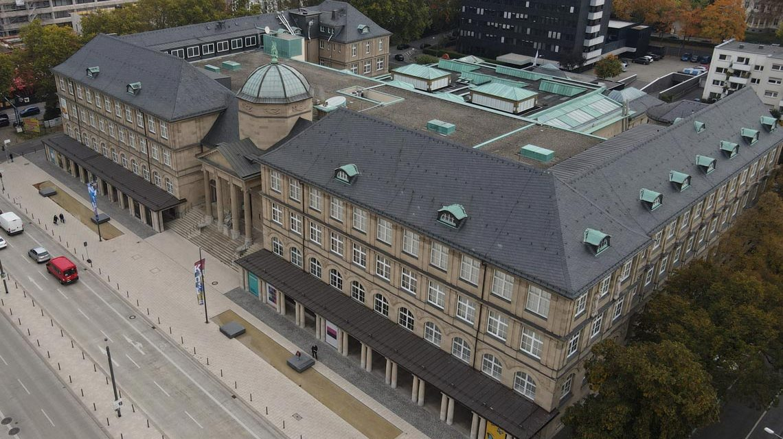 Das Landesmuseum aus einer anderen Perspektive.