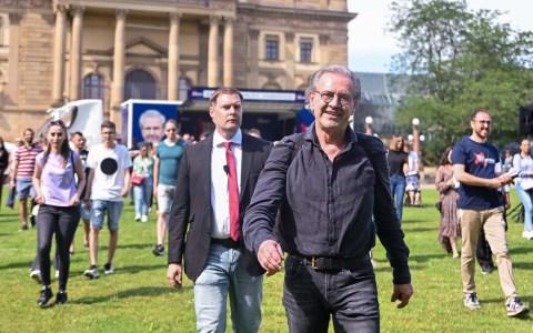 Jürgen Todenhöfer in Wiesbaden