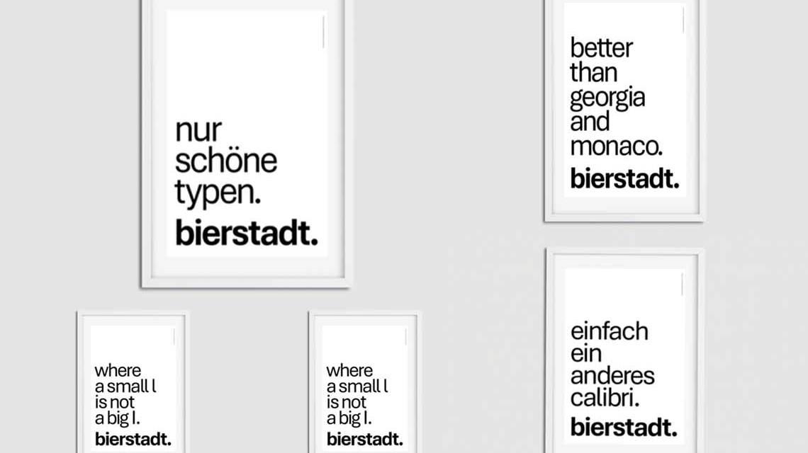 Bierstadt Font