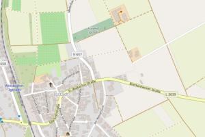 Vollsperrung der Medenbacher Straße in Igstadt