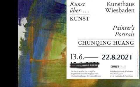 """Verlängerung der Ausstellung """"Chunqing Huang, Painter's Portrait"""""""