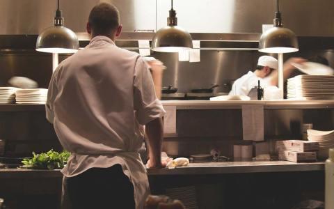 Koch in der Küche, Ausbildung