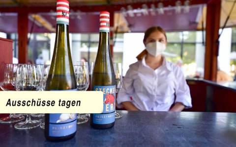 Weinprobierstand, Erbbaurechtsgrundlagen, Ausschüsse