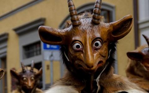 Halloween: Tiermasken in der Fasanerie basteln