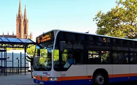 Buslinie 5, Symbolbild