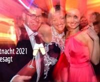 Party, tanzende Menschen bei der Henkell Seltnacht 2021
