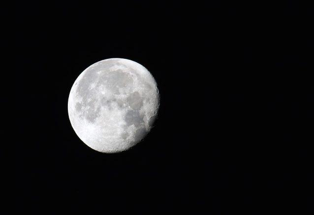 Mond am Morgen...