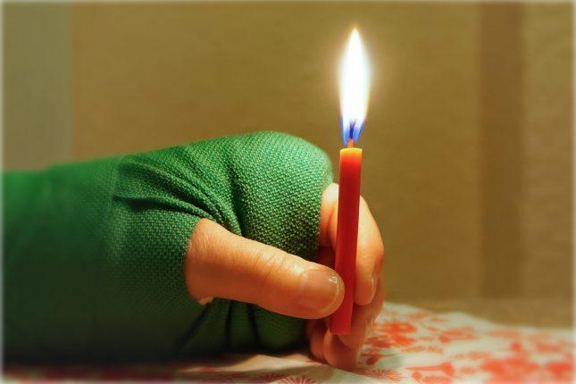 Schmerzhafter 1. Advent, Armbruch am 01.12.2018
