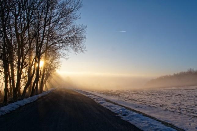 Die Nebelbank am Bieleboh