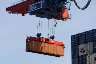 Container, Hafenrundfahrt HH, Mai 2019