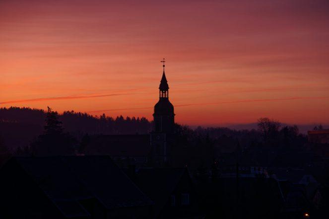 Der Himmel über Schönbach