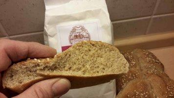 Brot, Dinkelbrötchen, Pizza und Fleisch Backen im Holzbackofen