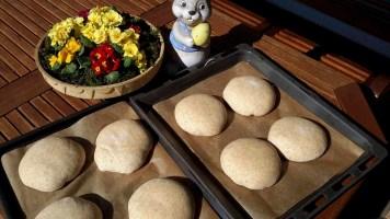 Alles aus dem Holzbackofen Brot, Brötchen, Kuchen und Fleisch