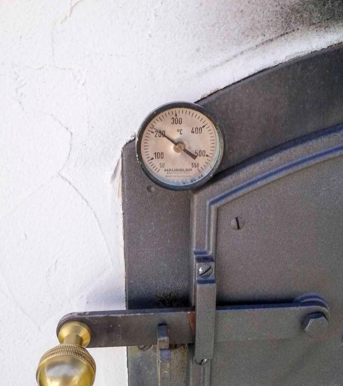 Holzbackofen Temperatur