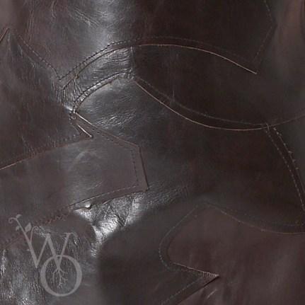 schortig detail leather