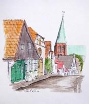 Burgstraße Meldorf, Dithmarschen