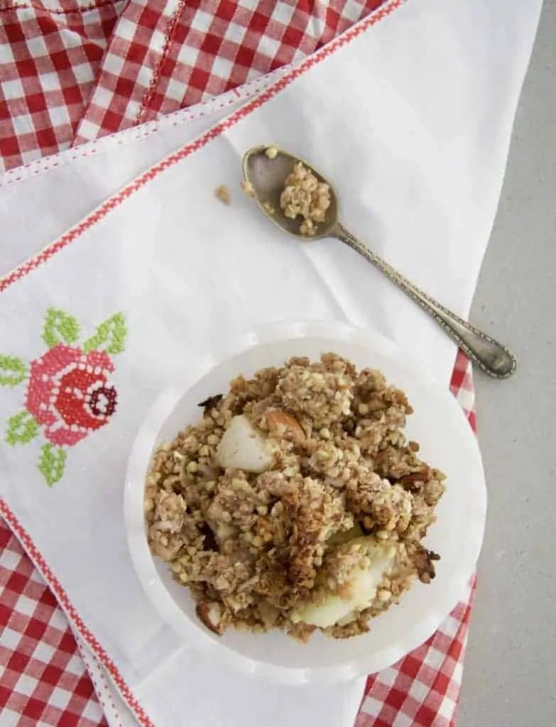 A delicious Sugar-free Apple Crumble recipe by Wife-made.