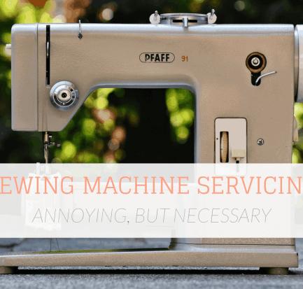 Sewing Machine Servicing