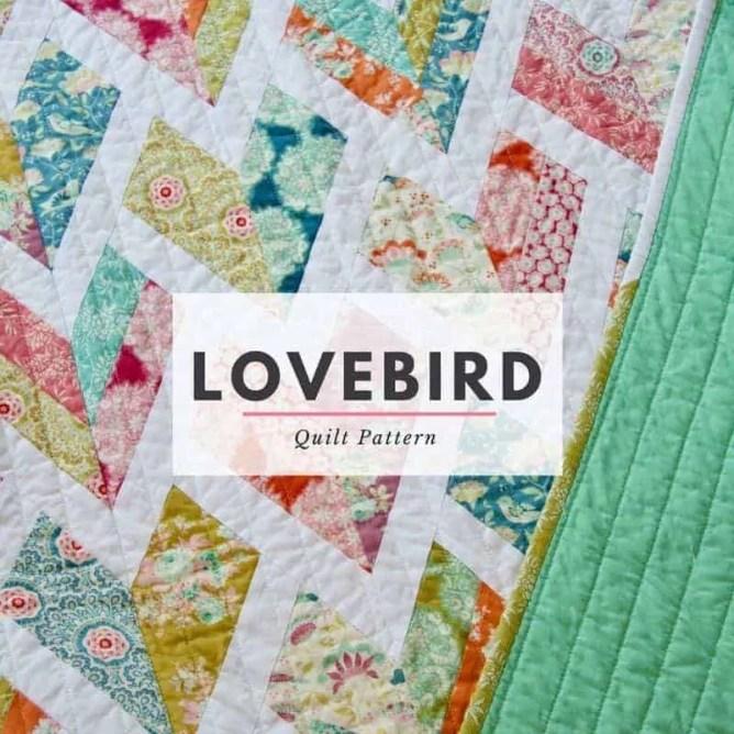 Wife-made Lovebird Quilt Pattern