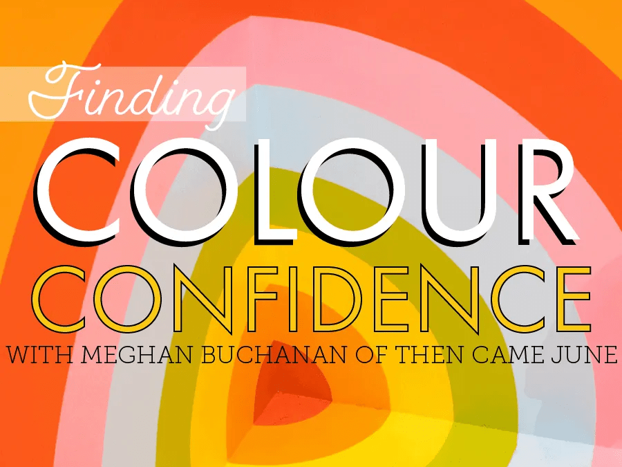 Finding Colour Confidence – Meghan of Then Came June  & an easy ombré palette how-to