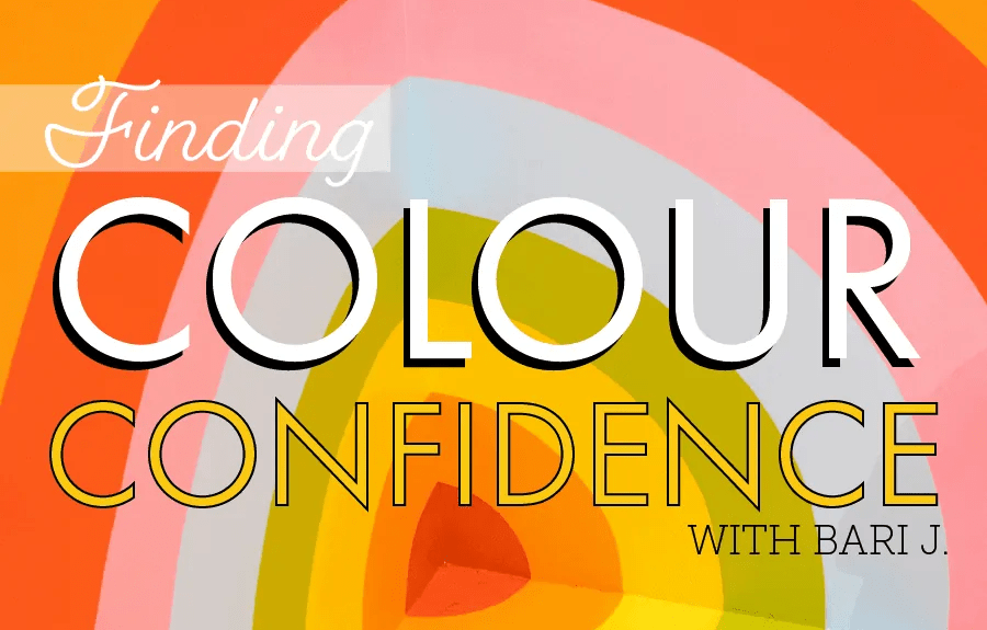 Finding Colour Confidence with Bari J