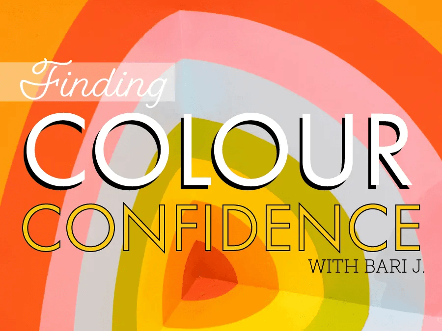 Finding Colour Confidence | Bari J and choosing colours digitally