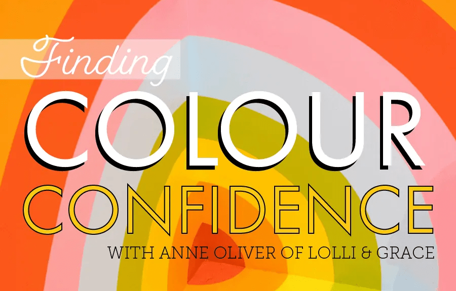 Finding Colour Confidence with Lolli & Grace