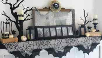 halloween decor 20 fang tastic mantels - Halloween Mantle
