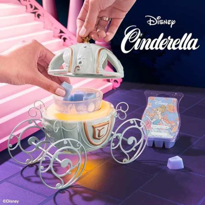 Scentsy Cinderella Carriage Warmer & Happily Ever After