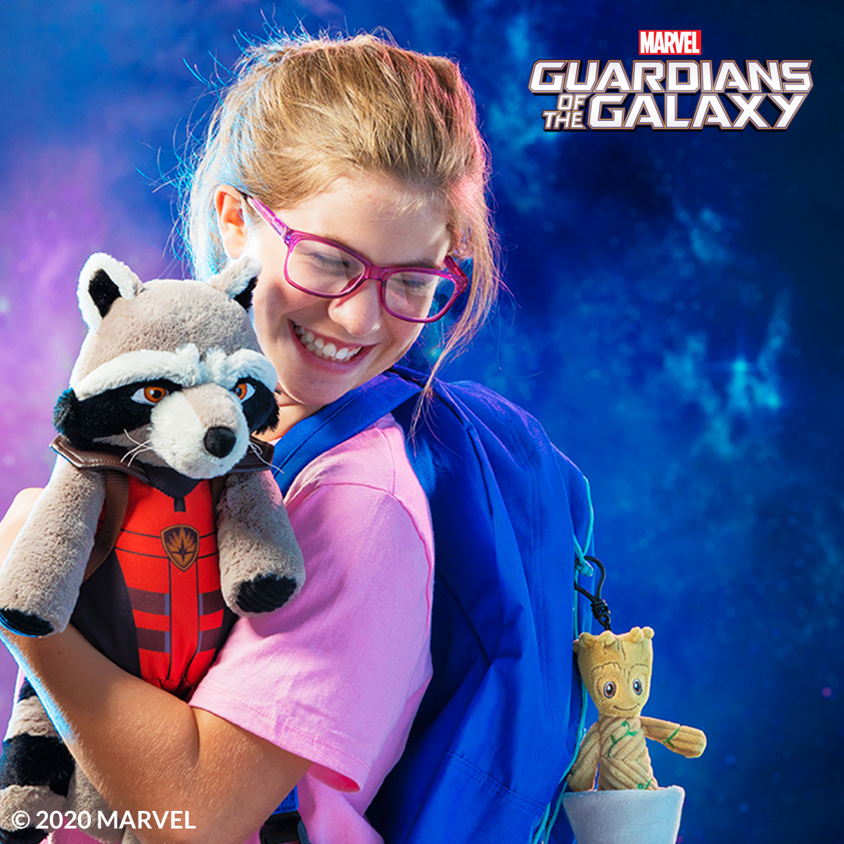 Hero up with Scentsy Buddies Rocket and Groot From Guardians Of The Galaxy
