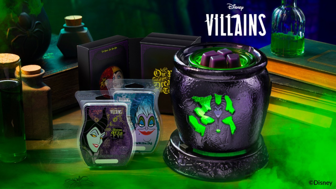 Scentsy Disney Villians Warmer Collection & Maleficent, Evil Queen, Ursula Scents