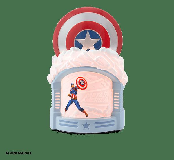 Scentsy New Marvel Captain America Warmer